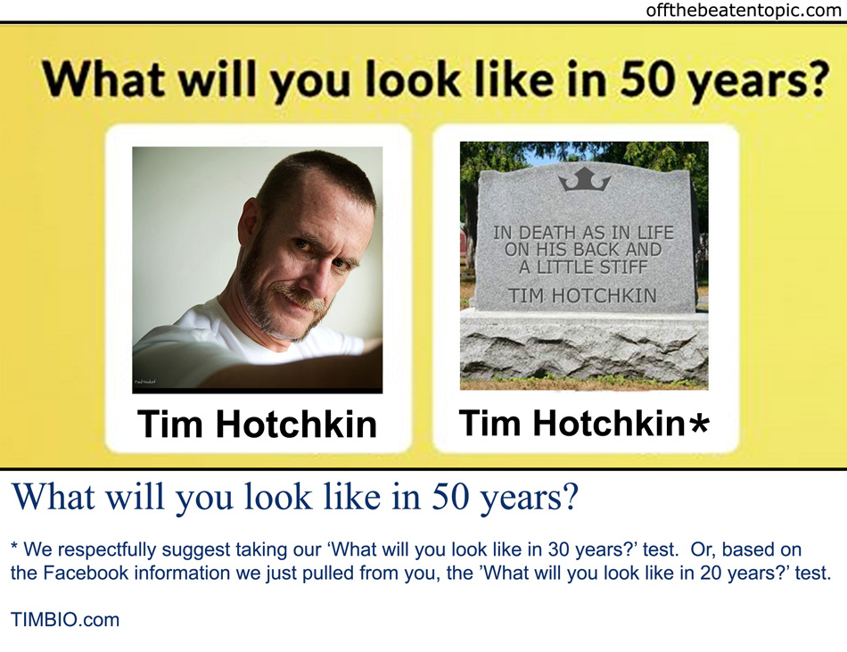 QS - What Will You Look Like In 50 Years?