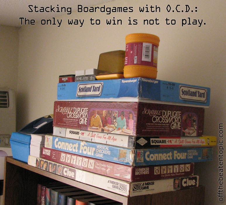 OCD & Boardgames