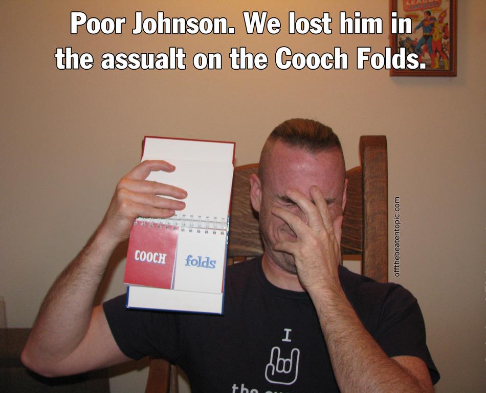 RC - Cooch Folds