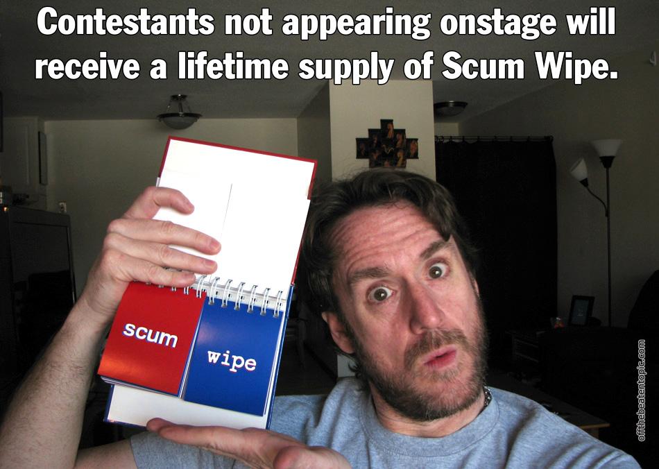 RC - Scum Wipe
